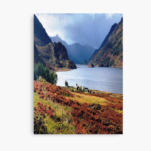 Sea Loch Hourn Glenelg Knoydart Canvas Print