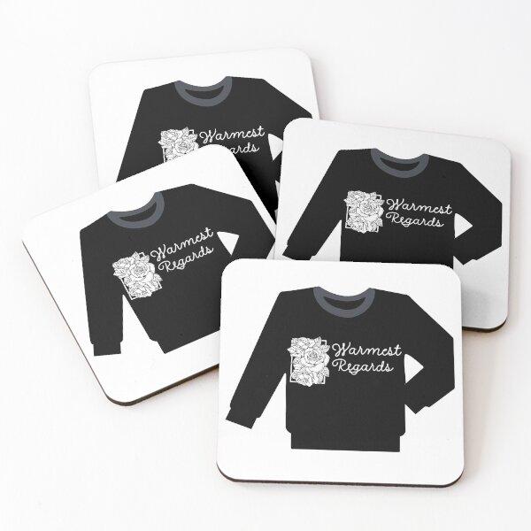 David rose sweater..warmest regards  Coasters (Set of 4)