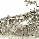 Colorado Street Bridge, Pasadena CA  by russhobbs