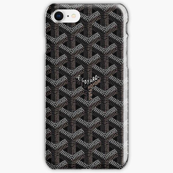 black goyard black iPhone Snap Case