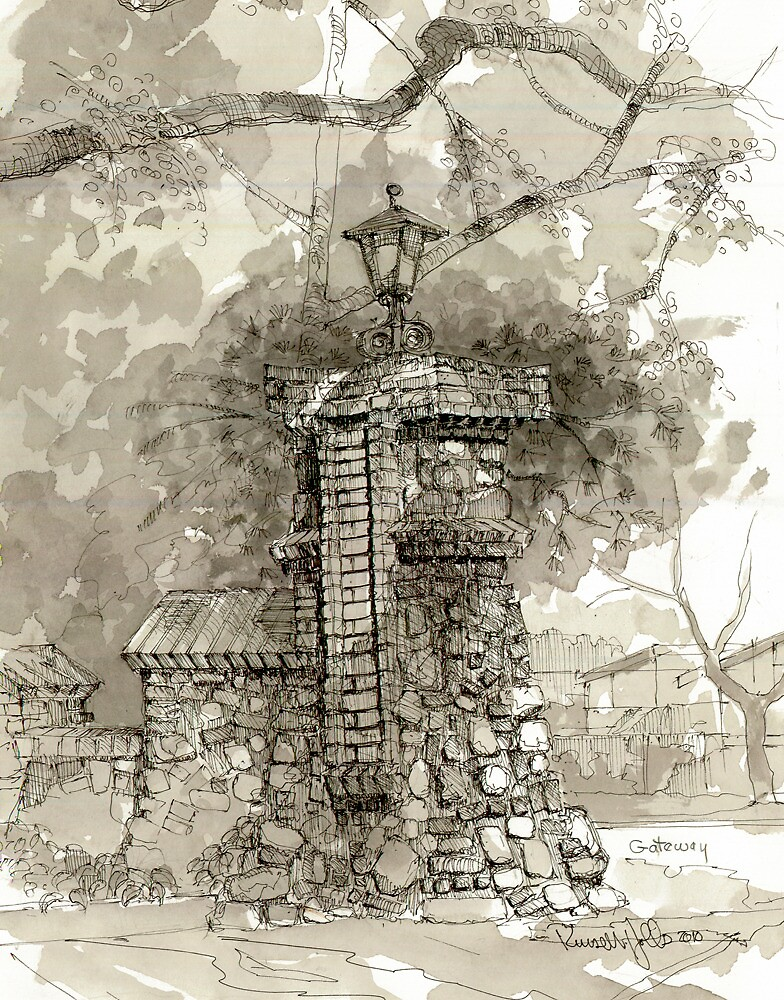 Gate Entry by russhobbs