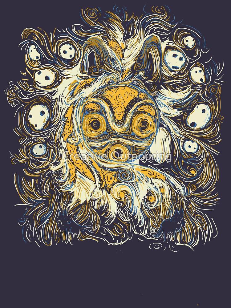 Impressionist Mononoke   Women's T-Shirt