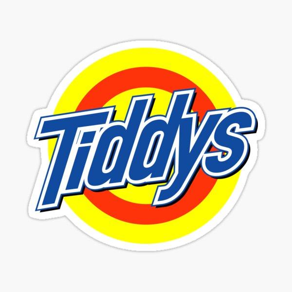 Tiddys Sticker