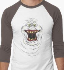 Who you gonna call? Slimer! Men's Baseball ¾ T-Shirt