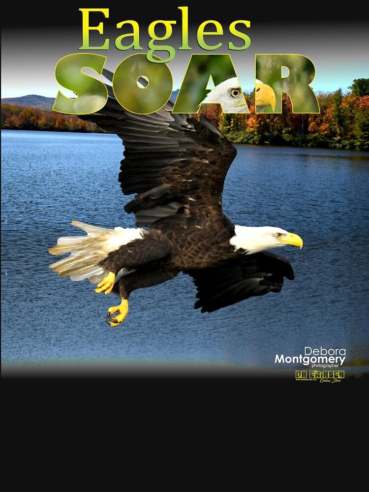 Eagles Soar by Debra Montgomery by DKEriksenArt