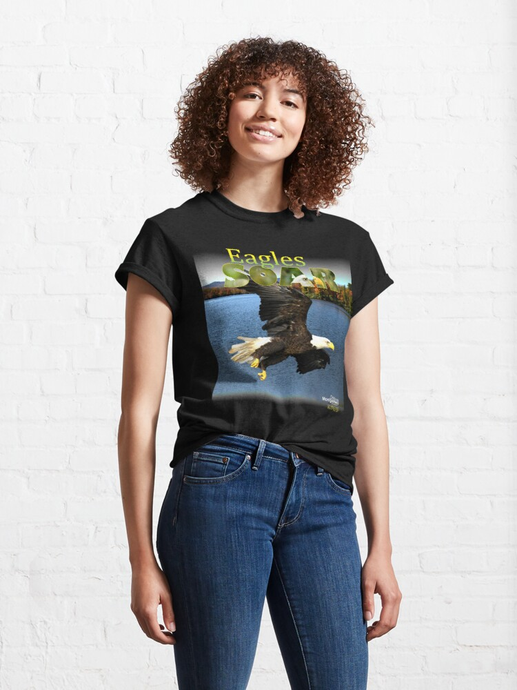 Alternate view of Eagles Soar by Debra Montgomery Classic T-Shirt