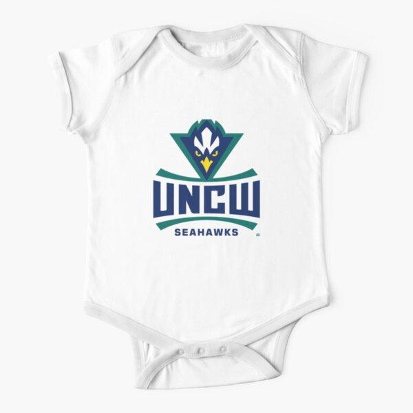 UNCW Seahawks NCAA Women's Sweat PPNCW010 Short Sleeve Baby One-Piece