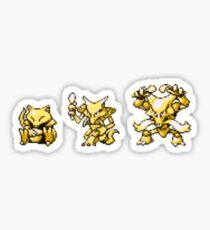 Abra evolutions Sticker