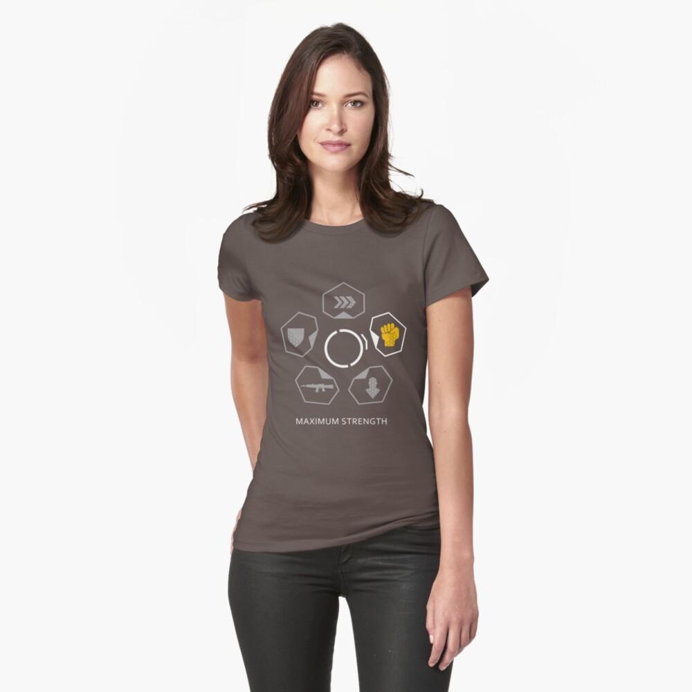 CRISIS 3 - FUERZA MÁXIMA Camiseta entallada