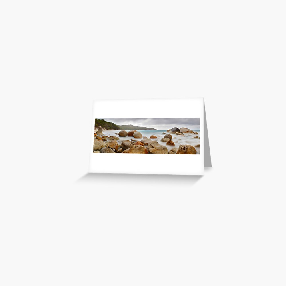 Waterloo Bay Rocks, Wilsons Promontory, Victoria, Australia Greeting Card