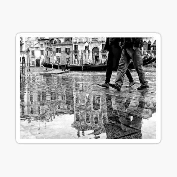 Venice High Tide Sticker