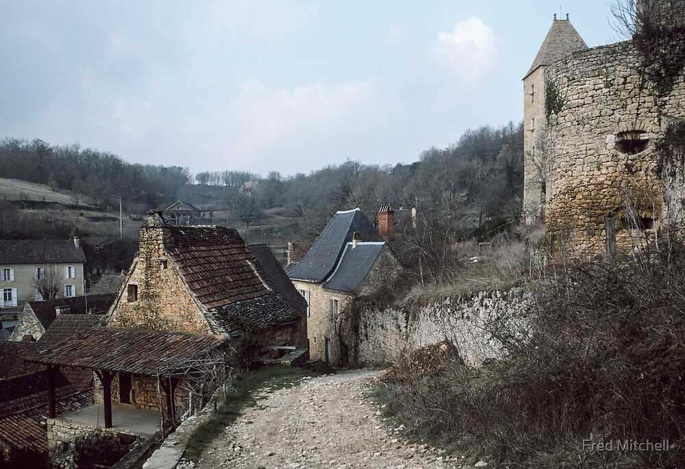 Village of Castelnaud 19840227 0023  by Fred Mitchell