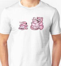 Slowpoke evolution  Unisex T-Shirt