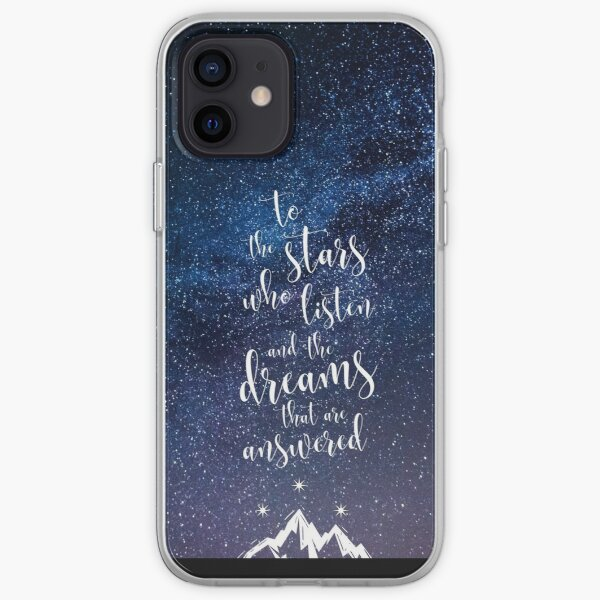 A Court of Mist & Fury Quote iPhone Soft Case