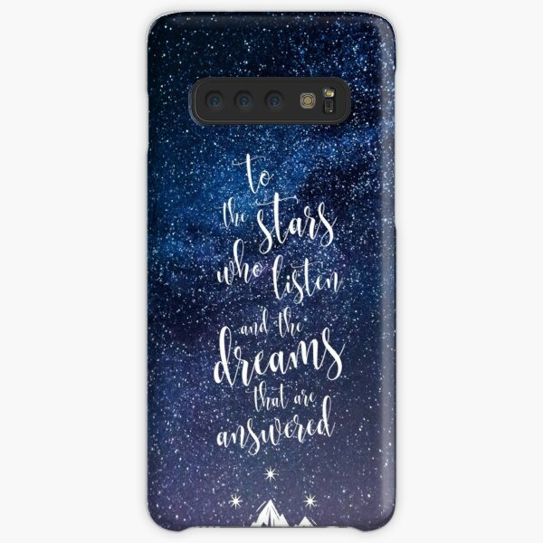 A Court of Mist & Fury Quote Samsung Galaxy Snap Case