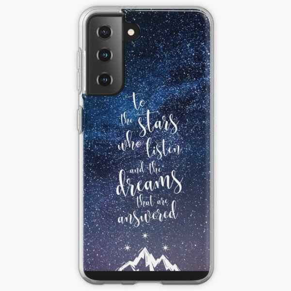 A Court of Mist & Fury Quote Samsung Galaxy Soft Case