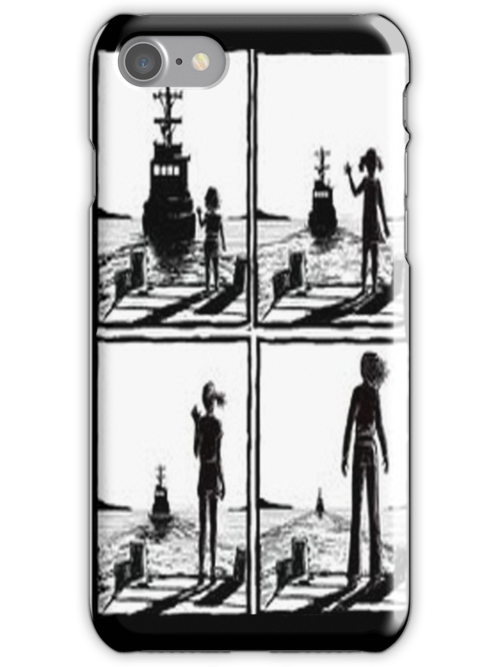 One Tree Hill: Peyton Boat Artwork - Iphone case  by sullat04