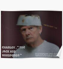 """"""" The Jack Ass Whisperer """" Poster"""