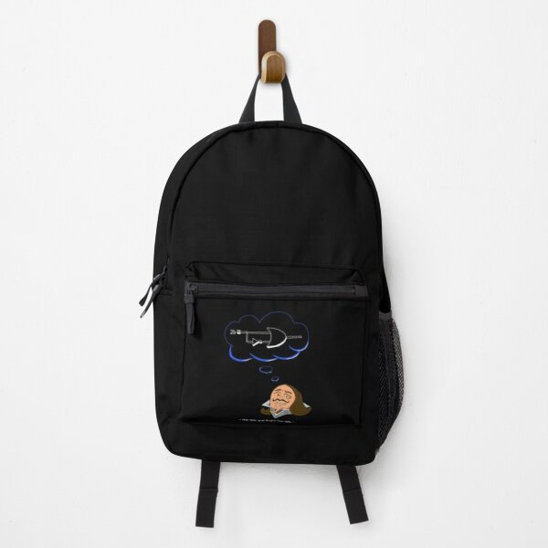 "Digital electronic "" To be or not 2b "" Backpack"
