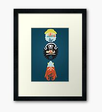 All Abeard! Framed Print