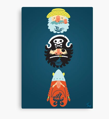 All Abeard! Canvas Print