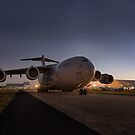 Globemaster Sunrise  by AMPMphotography