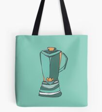 Retro Abstract Blender Tote Bag