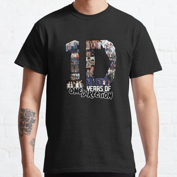 10 Years of 1 D Classic T-Shirt