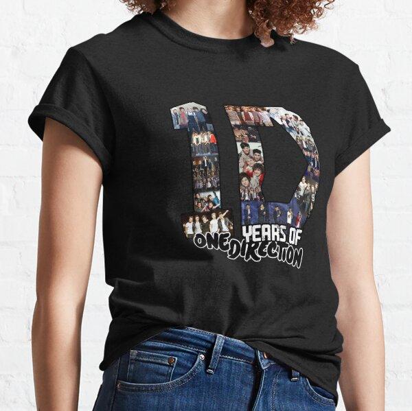 10 Años de 1 D Camiseta clásica
