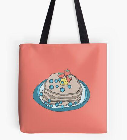 Retro Abstract Pancakes Tote Bag