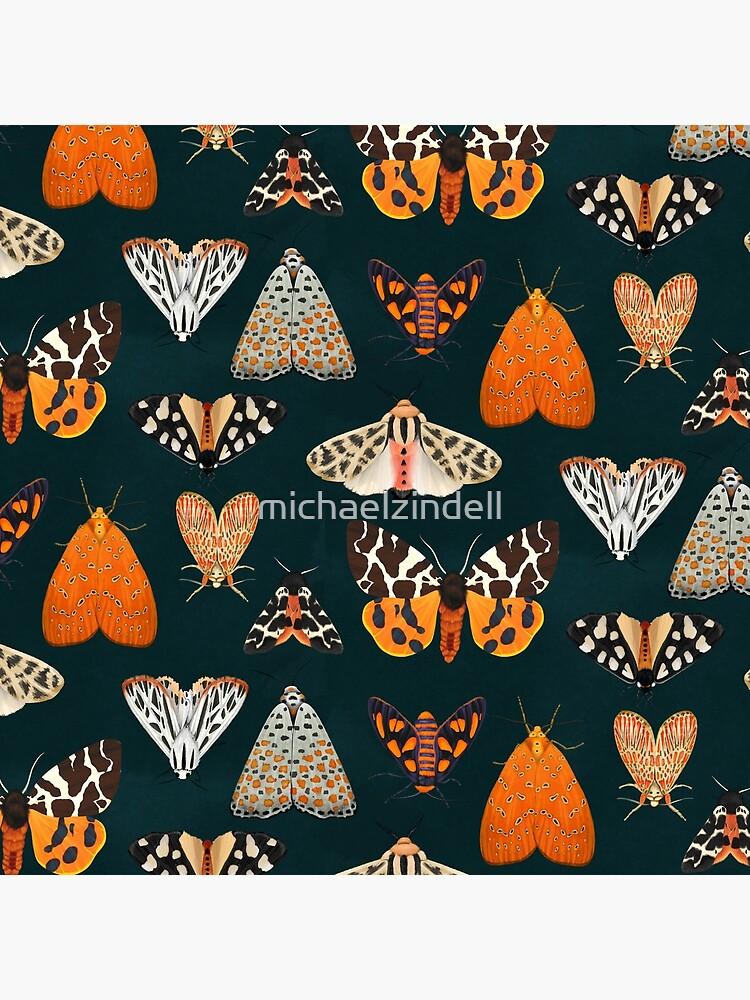 tiger moths by michaelzindell