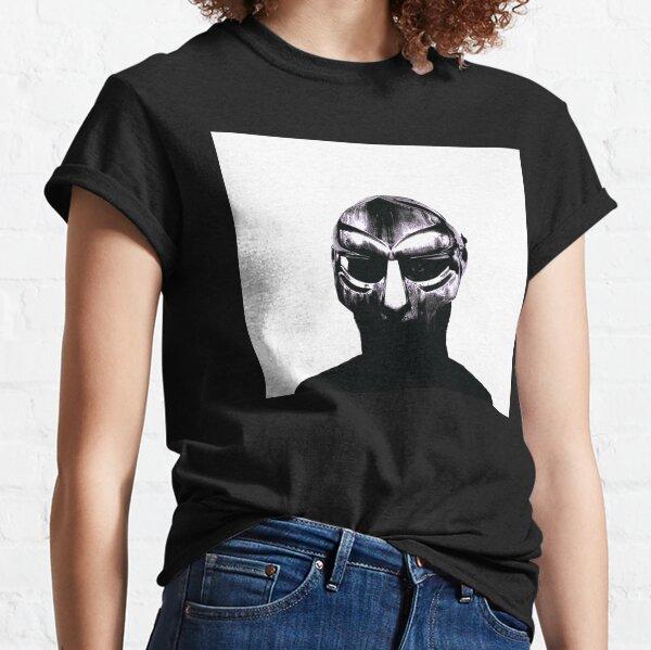 Camisa de hip hop DOOM Madvillain All Caps Camiseta clásica