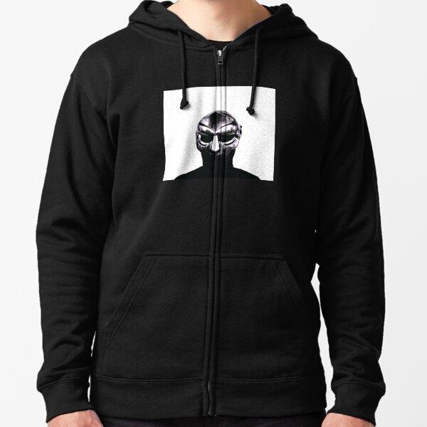 Chemise Hip Hop DOOM Madvillain All Caps Veste zippée à capuche