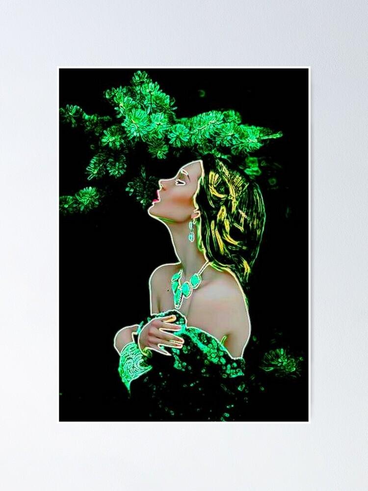 Alternate view of GREEN MEDITATION Poster