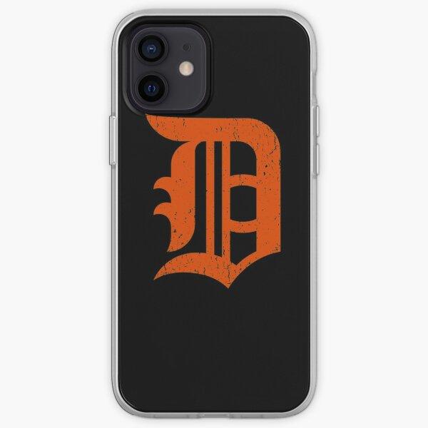 Detroit Baseball D   Vintage Michigan Bengal Tiger iPhone Soft Case