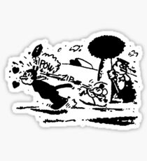 pulp fiction: jules Sticker