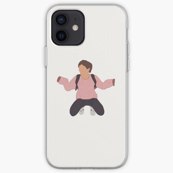 Louis Tomlinson Pink Hoodie iPhone Soft Case