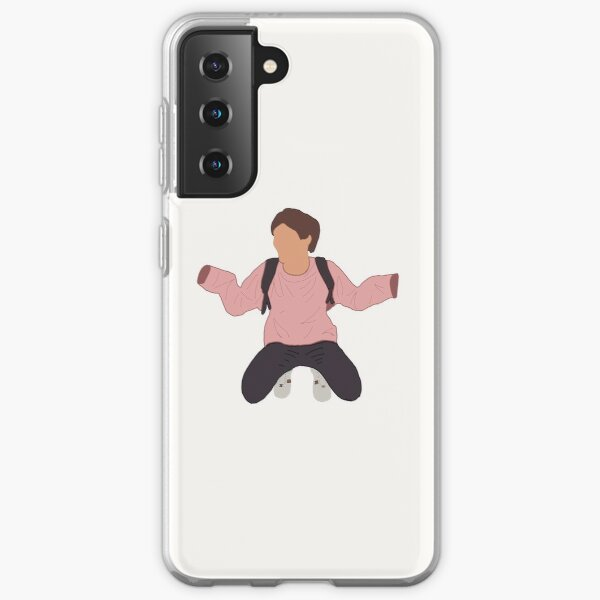 Louis Tomlinson Pink Hoodie Funda blanda para Samsung Galaxy