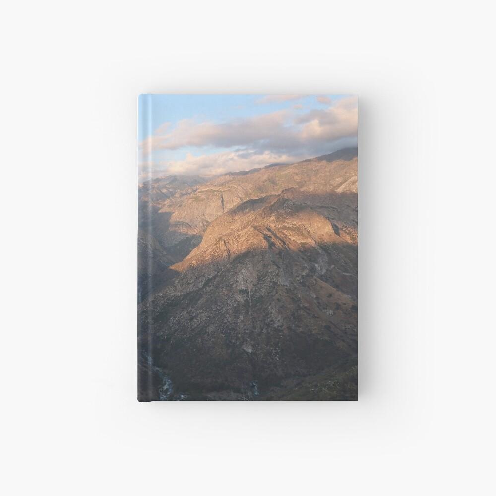 Kings Canyon overlook Hardcover Journal