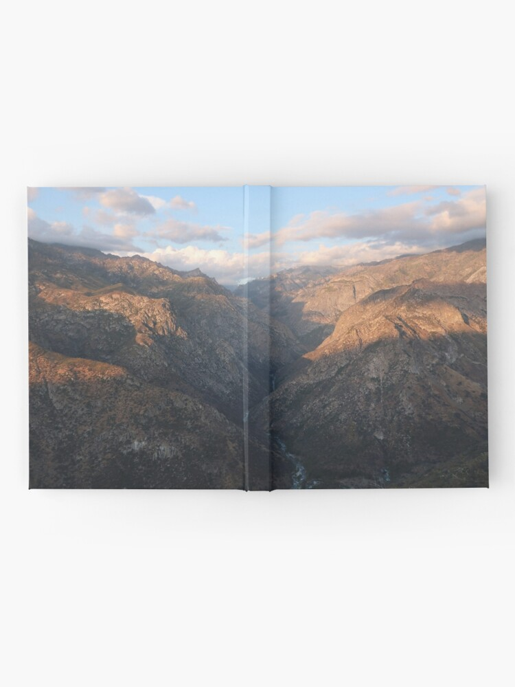 Alternate view of Kings Canyon overlook Hardcover Journal