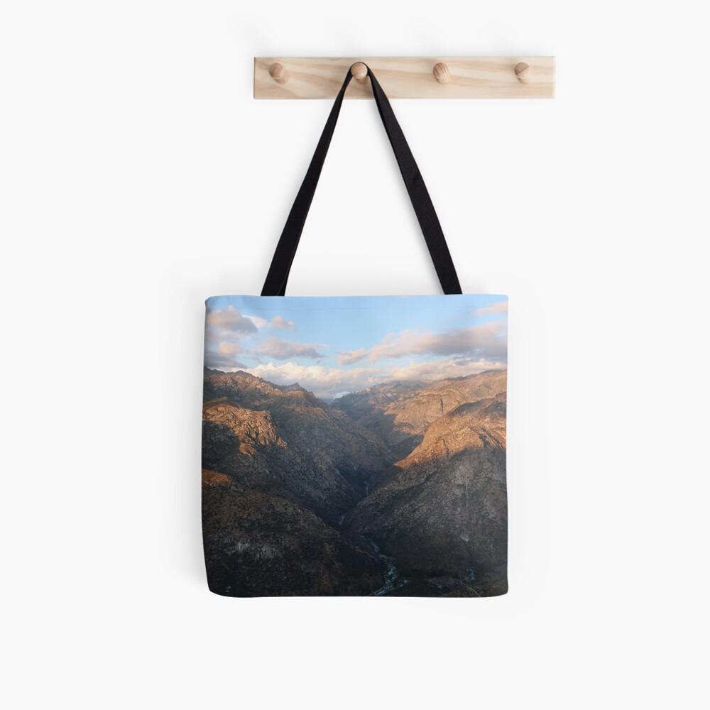 Kings Canyon overlook Tote Bag