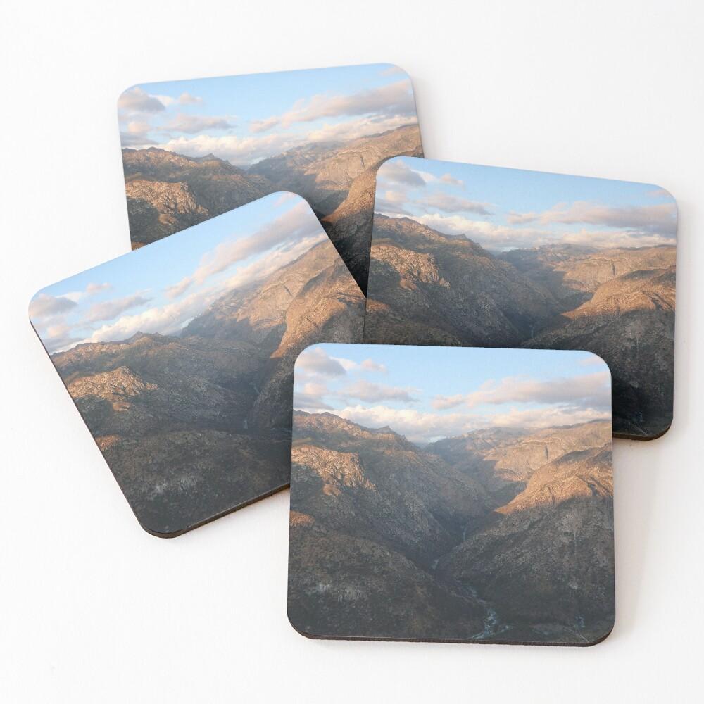 Kings Canyon overlook Coasters (Set of 4)
