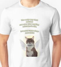 Angel with Cattitude Unisex T-Shirt