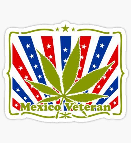Mexico Veteran VRS2 Sticker