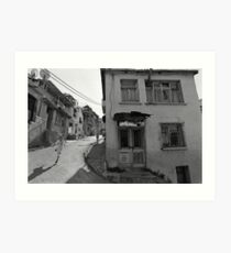 Urban Decay and Children Art Print
