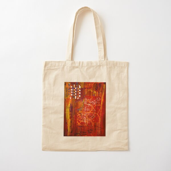 Unfinished #1 Cotton Tote Bag