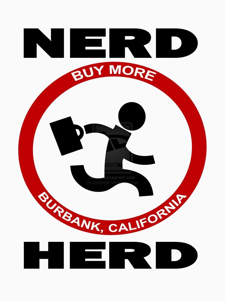 Chuck Nerd Herd by forfox