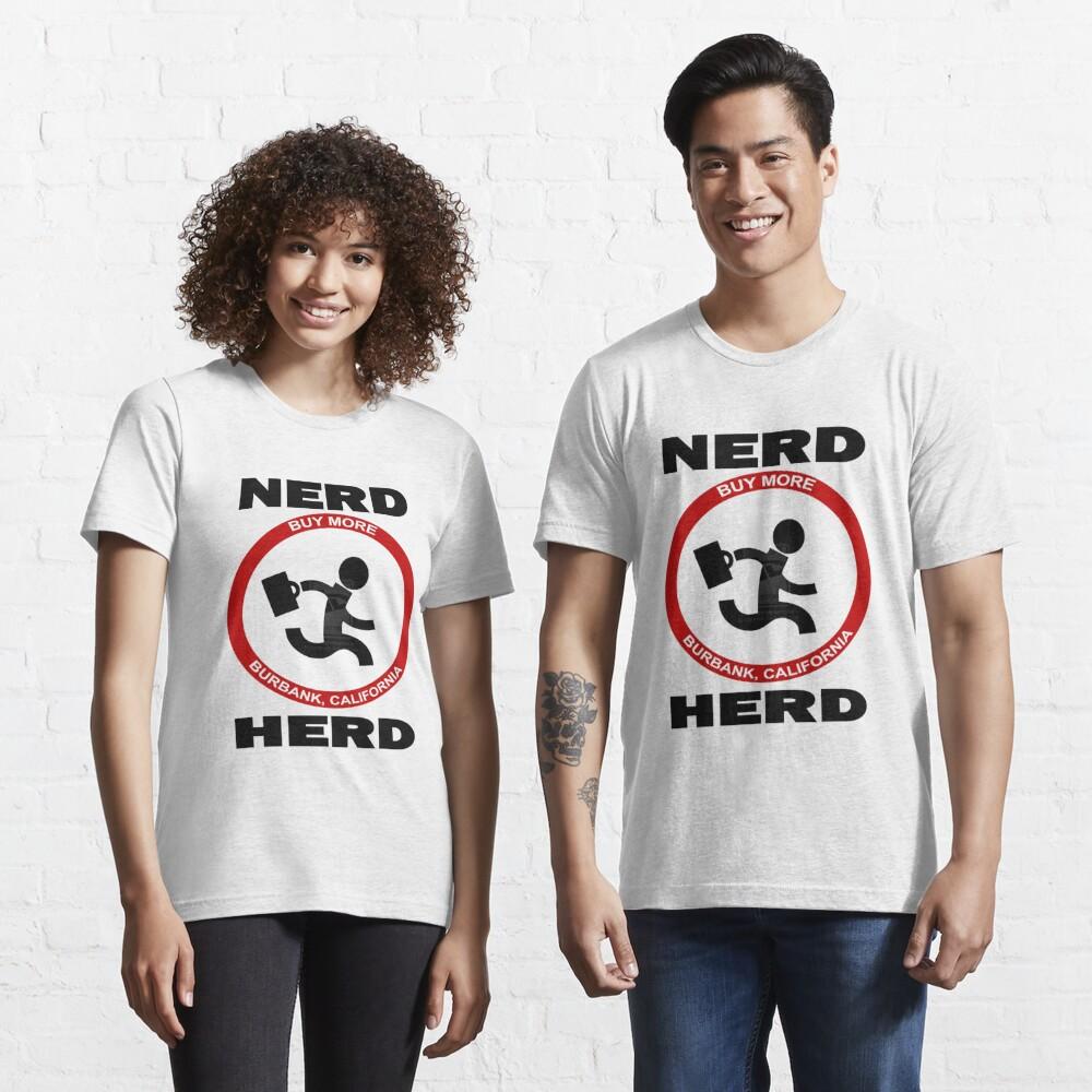 Chuck Nerd Herd Essential T-Shirt