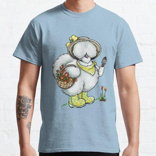 Sillkie Chicken Gardening Classic T-Shirt