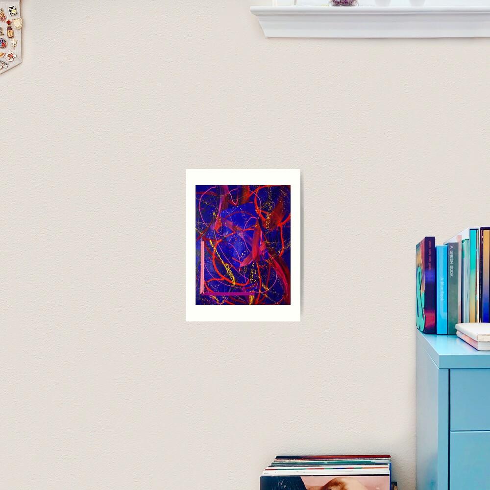 Opening Up #4 Art Print